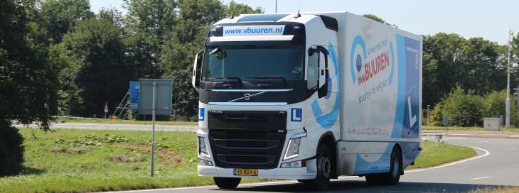 Vrachtvervoer over de weg in 2016 toegenomen